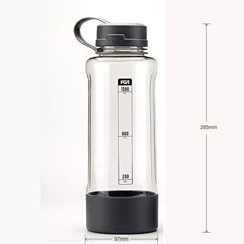 Flasche Kunststoffkessel Große Kapazität Outdoor-Sportwagen Tragbaren Tee Tragbare Wasserschale -