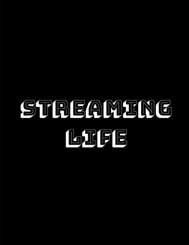 Streaming Life Streamer Notebook Planner To Plan Your Weekly Livestreams For The Year If You