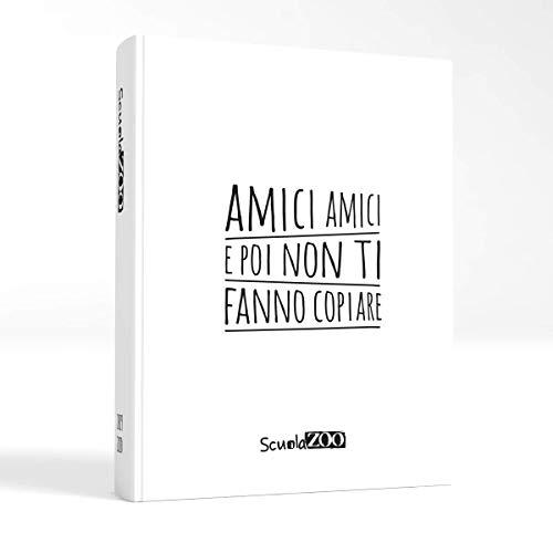 ScuolaZoo Agenda Diario Scolastico 2019 2020 con Meme divertentissimi e Tanti Adesivi, Disponibile in 6 Colori e 3 Dimensioni (Bianco, Giant)
