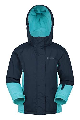 Mountain Warehouse Chaqueta de esquí Honey para niños - Chaqueta Impermeable a la Nieve para niños...