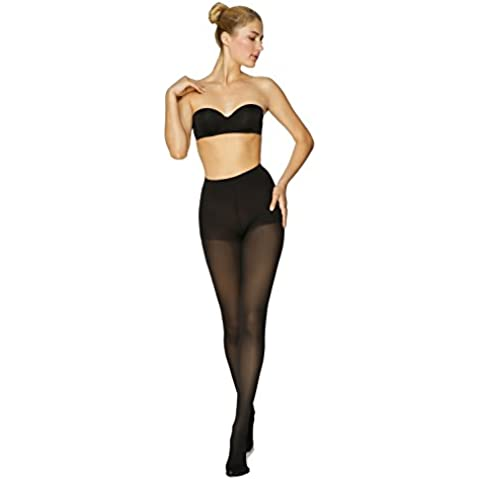 ®BeFit24 - Graduated Compression Pantyhose for Women (23-32 mmHg) - Medical Compression Tights - Made in Europe S (Height 1: 5'2