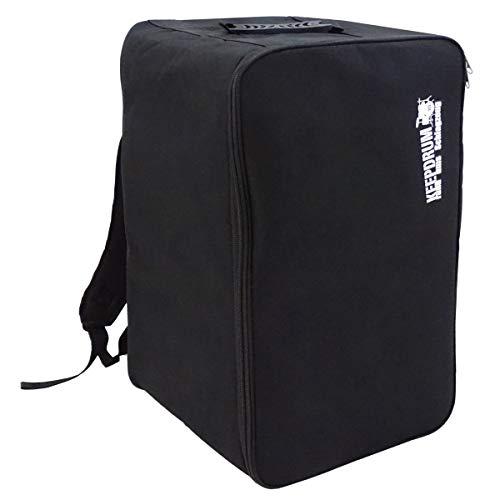 Keepdrum cajón de mochila de bolsillo Backpack Gig Bag Nylon cajón (funda acolchada