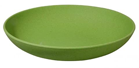 Assiette vert (alternative vaisselle mélamine-zuperzozial raw earth collection