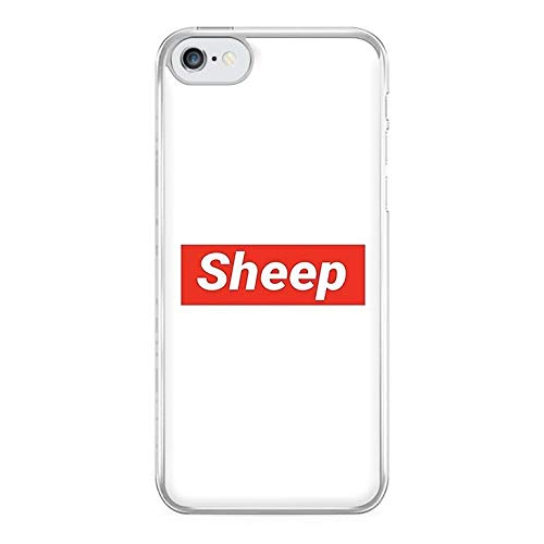 Fun Cases Sheep - Supreme Phone Case - iPhone 4/4s Compatible (Case Iphone 4 Supreme)