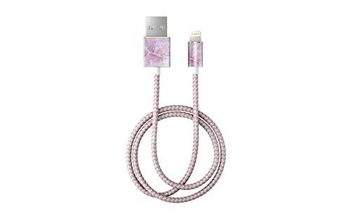 Preisvergleich Produktbild iDeal Of Sweden Pilion Pink Marble Lightning-Kabel (1m)