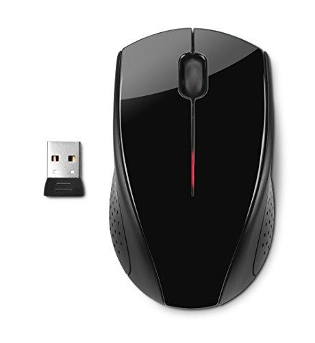 HP X3000 Mouse Wireless con Nano Ricevitore, Nero
