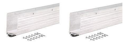 Mill Finish Aluminium (M-D Building Products 68593 Türboden aus Aluminium, mit Mill/Vinyl-Finish 2-(Pack))