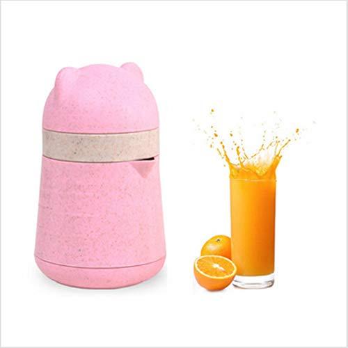 JUNDY Spremiagrumi Manuale Tazza di Succo per la casa Portatile Manuale di frumento Creativo A-12