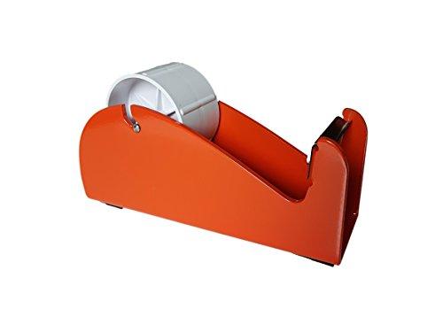 Paketbandabroller, robust, 25-48-50mm breit, für eine Verwendung auf dem Tisch/Schreibtisch, aus Acryl, für Pakete/Boxen/Verpackung, Klebeband