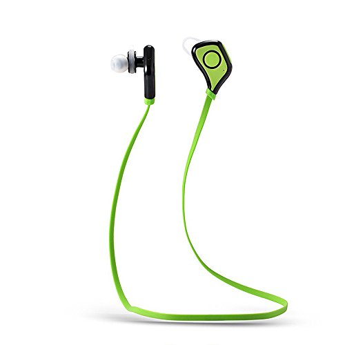 thanly portatile Mini Sport Auricolari Bluetooth 4.0Wireless Stereo Corsa sweatproof cuffia auricolare auricolari in studio auricolare vivavoce per iPhone, Samsung, HTC, LG, BlackBerry, Tablet ecc. - 2 Air Bag Spacer