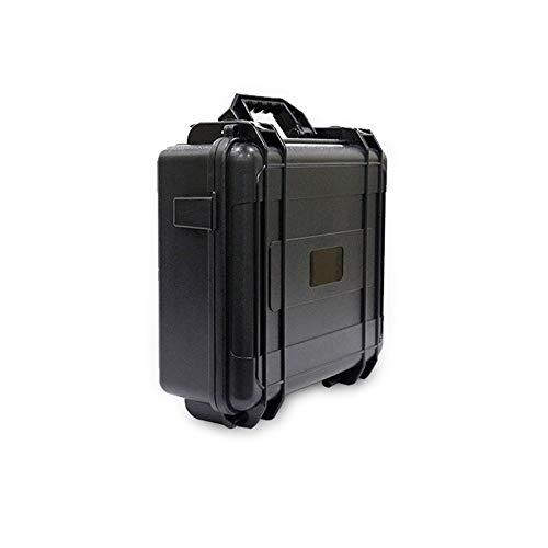 Organizzatore multifunzione outdoor borsetta zaino impermeabile per dji mavic pro quadcopter semi rigido shell valigia in carbonio per uomini donne (color : nero, size : m)