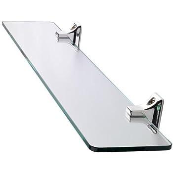Axentia tag re murale en verre pour salle de bain Tablette salle de bain verre
