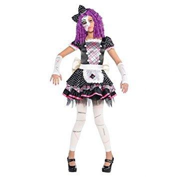 Zerbrochene Puppe Kinderkostüm (Scary Doll Kostüme)