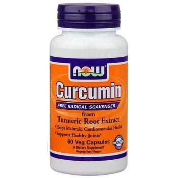 Now Foods - Estratto al 95% di radice di Turmerico Curcuma - 60 capsule vege