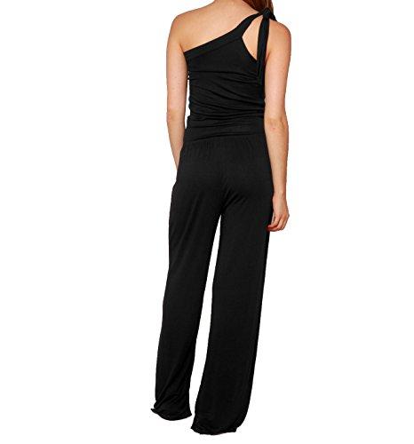 Phax Swimwear pf11840024–Beach Romper–Damen schwarz Schwarz