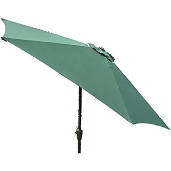 progen 2 7m umbrella patio garden parasol crank lift tilt brand