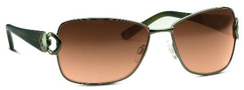 Bogner Eyewear Damen Sonnenbrille 735011402065Z, Gr. one size, Grün (oliv)