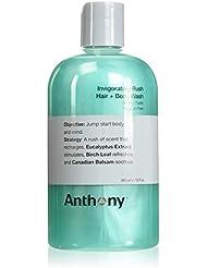 ANTHONY Shampoing Tonifiant + Gel Douche, 355 ml