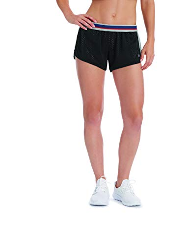Champion Womens Reversible Mesh to Jersey Shorts (M9593) -Black/Oxfo -S -
