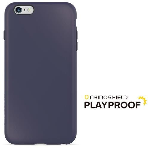 iPhone 6 Plus / 6s Plus Hülle - RhinoShield [PlayProof] Case - 4 Meter Hochleistungsstoßdämpfung [ShockSpread Technologie] - Extrem dünn und leicht [Lebenslange Garantie] - Schwarz Dunkelblau
