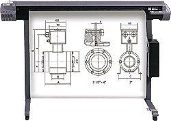 """""""Heipa InkJet CAD Plotter-Papiere/F725962 91,4cm x 50m x 2"""""""" weiß 80 g/qm"""""""