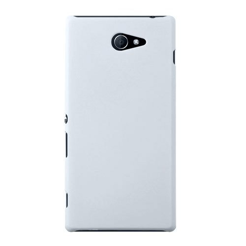 2dots Flip Back Cover Case for Sony Xperia M2 White  available at amazon for Rs.105