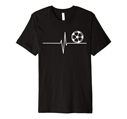 Fußball Fußballverein Fußballmannschaft - Herzschlag T-Shirt