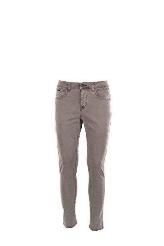 Pantalone Uomo Yes-zee 31 Grigio Chiaro P602 Fm00 Autunno Inverno 2016/17