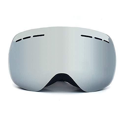 Aienid Radbrille Wechselgläser Schwarz Skibrille Winddichter Augenschutz Size:22.5X10.8CM