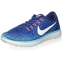 Nike Damen Free Run Distance Halbschuh, Blau, 41 EU