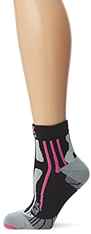 X-Socks Run Speed Two Women Blanc / Turquoise Noir Noir/fuchsia 3