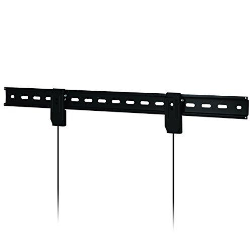 ARCTIC TV Basic L - Ultra-Stabile Wandhalterung für Fernseher mit 42 – 80 Zoll I sehr dünne Halterung für TV I Fernseh-Wandhalter I kompatibel mit vielen TV-Herstellern I bis zu 45 kg - Schwarz