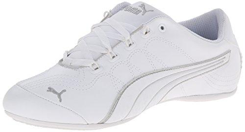 Puma Soleil V2Komfort Fun Sneakers, White/Puma Silver, 39 EU