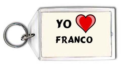 Shopzeus Llavero Estampado Te Quiero Franco Nombre