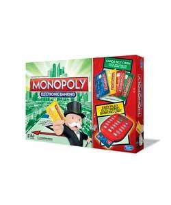 Monopoly Juego mesa banca electrónica Hasbro Gaming