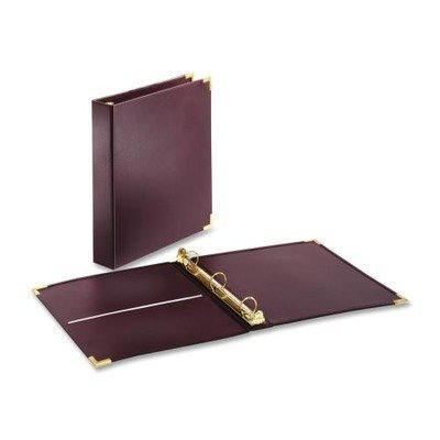 cardinal-brands-inc-binder-3-ring-vinyl-1ampquot-capacity-11ampquotx8-1-2ampquot-burgundy-by-cardina