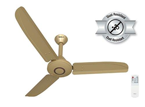 Havells Efficiencia (BLDC 32 Watt) Energy Saving With Anti Dust Ceiling Fan (Set Of 2) (Beige Brown)