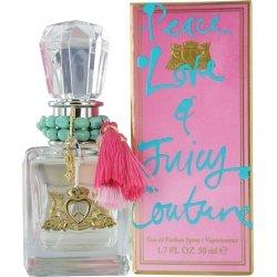 Juicy Couture Peace Love and Juicy Eau De Parfum Spray 50ml
