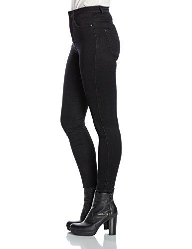 ONLY Damen Skinny Jeanshose 15093134 Schwarz (Black)