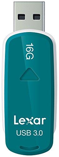 Lexar JumpDrive Unità Fash S37, 16 GB, USB 3.0, Verde Acqua