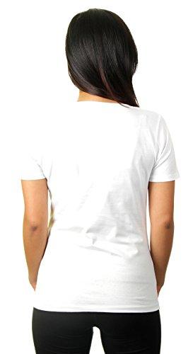 Hashtag #vegetarian - Damen T-Shirt von Kater Likoli Weiß