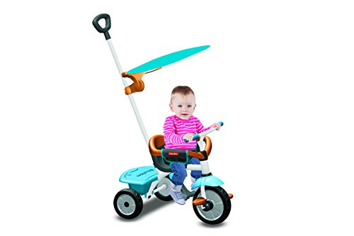 Fisher-Price 3450633 - Dreiradfahrzeug Jolly Plus, blau