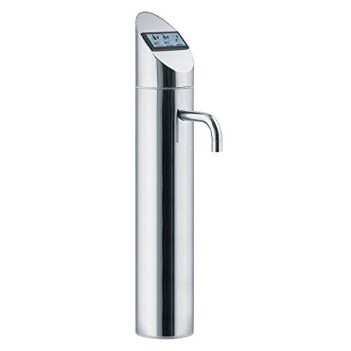 Elektronische 3-Wege-Sodaarmatur / Zapfhahn POINT DS mit TOUCH DISPLAY für Untertisch-Wassersprudelanlagen liefert stilles, gekühltes und Sprudelwasser. Top Qualität. Top Preis. -