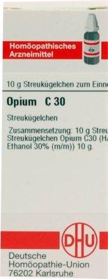 DHU Opium C30, 10 g Globuli