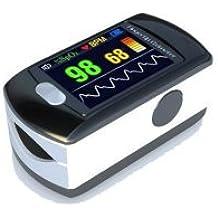 CT a todo color usb oled dedo oxímetro de pulso y monitor de frecuencia cardíaca W