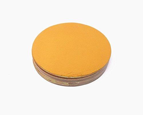 honbay 100Gold Rund beschichtet cakeboards Kreise Kuchen Boards (Kuchen Kreise Gold)