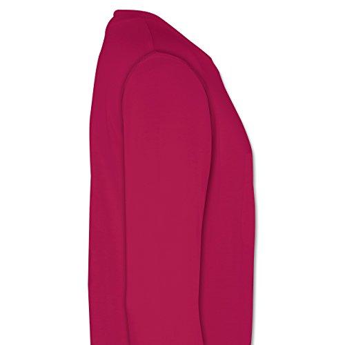 Basketball - Basketball - Herren Premium Pullover Fuchsia