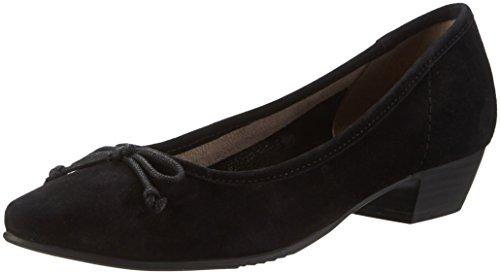 Jana 22202, Scarpe con Tacco Donna Nero (Black 001)