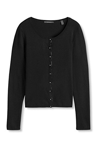 ESPRIT Collection, Cardigan Donna Nero (BLACK 001)