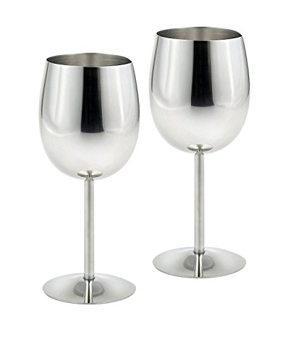Edelstahl - Glas zwei Kreative pokal - BAR - Restaurant Edelstahl Rotwein